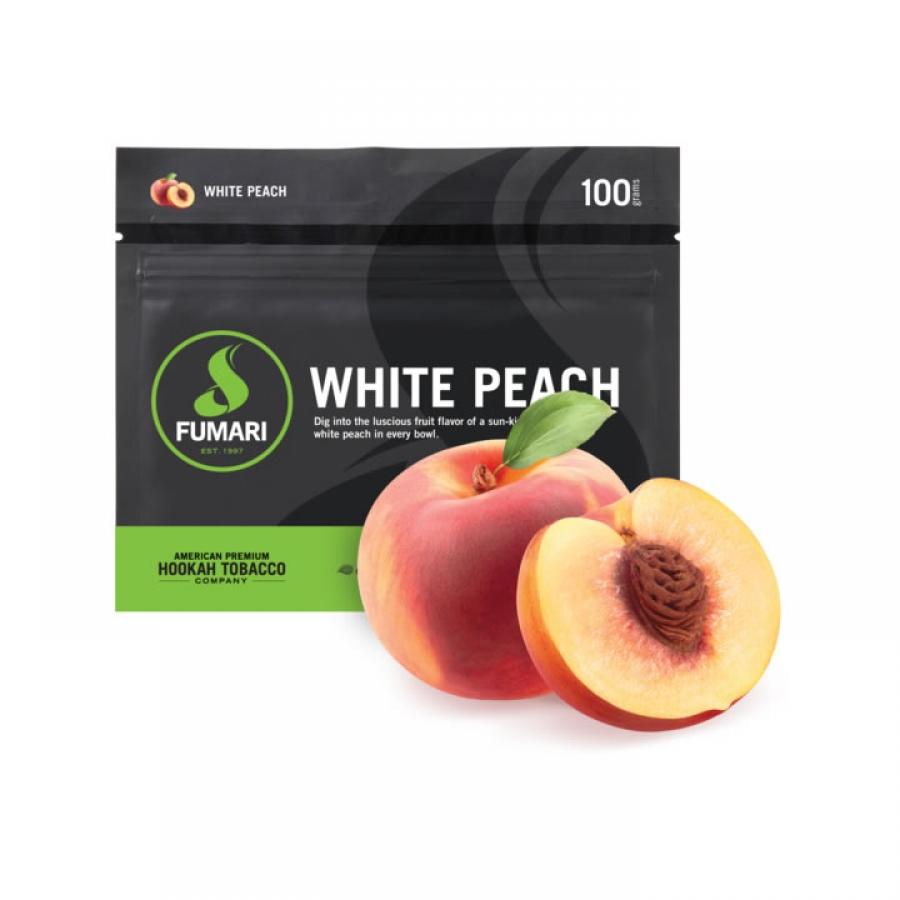 Essência Fumari White Peach 100g