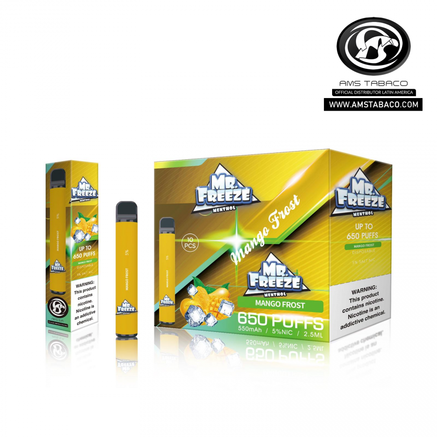Disposable Device Mr. Freeze Mango Frost 650 puffs