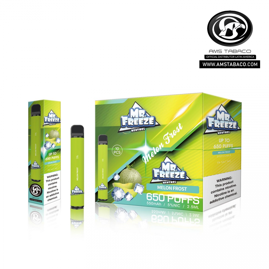 Disposable Device Mr. Freeze Melon Frost 650 puffs