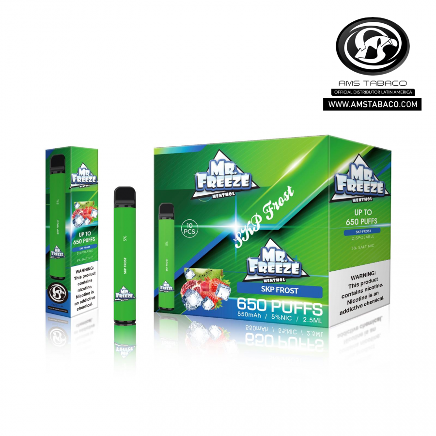 Disposable Device Mr. Freeze SKP Frost 650 puffs
