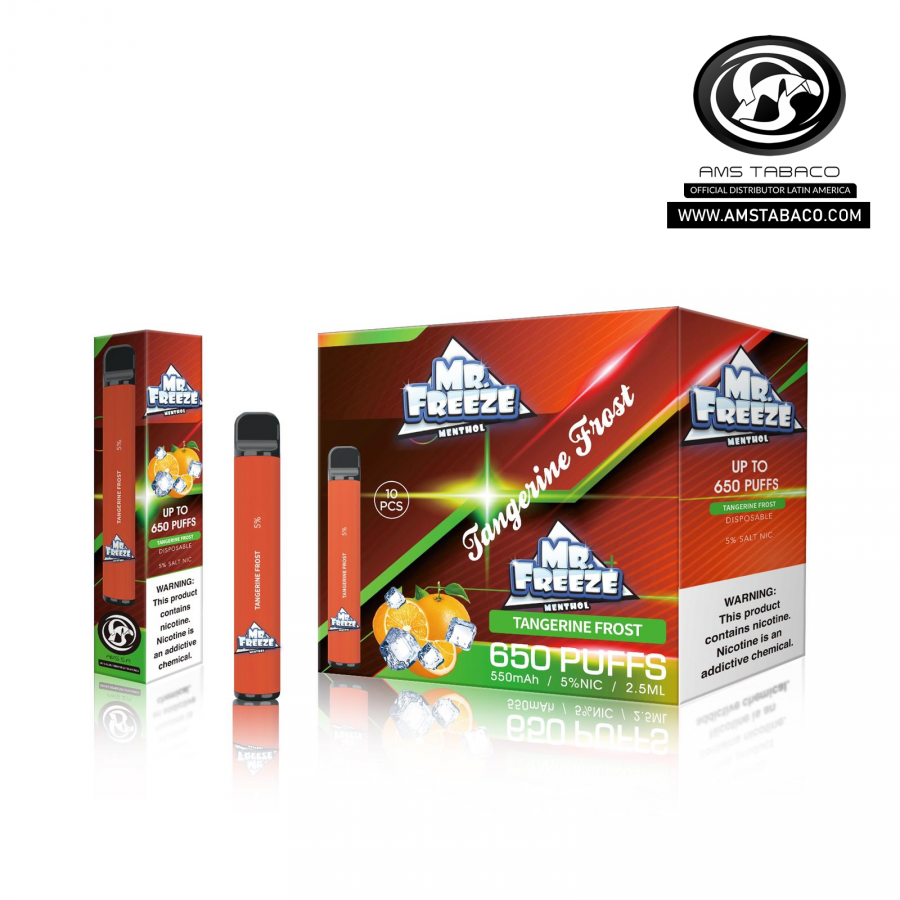 Disposable Device Mr. Freeze Tangerine Frost 650 puffs