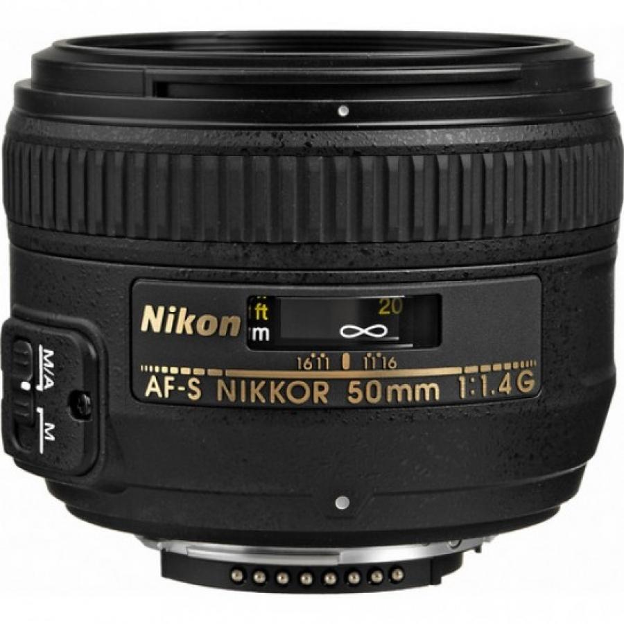 LENTE NIKON FX 50MM F1.4G AF-S