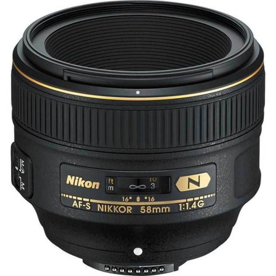 LENTE NIKON FX 58MM F1.4G AF-S
