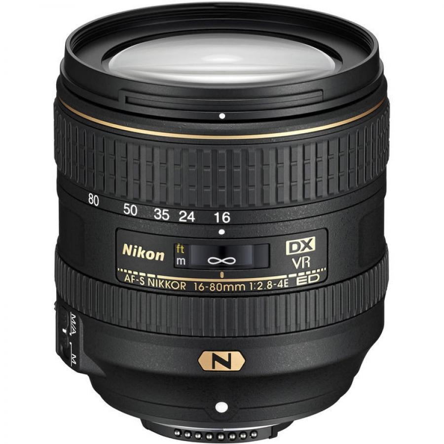 LENTE NIKON DX 16-80MM F2.8-4E ED AF-S VR