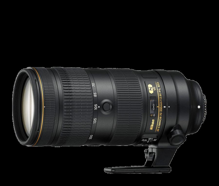 LENTE NIKON FX 70-200MM F2.8E FL VR AF-S
