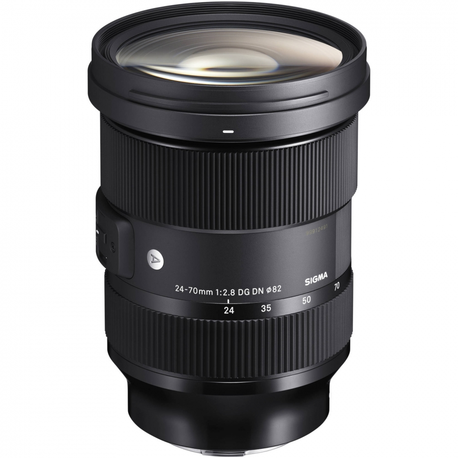 LENTE SIGMA SONY DG DN 24-70MM F/2.8 ART E-MOUNT