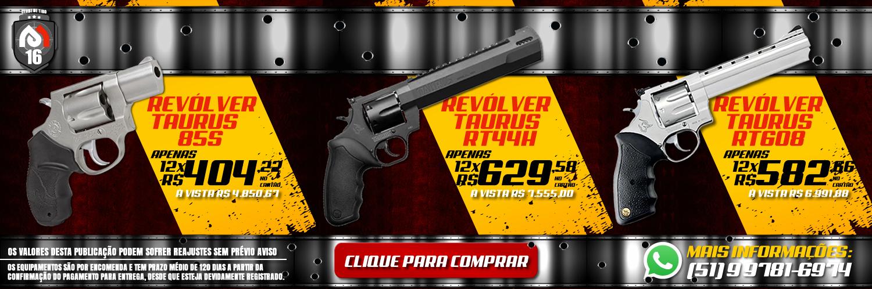 Os melhores revólveres