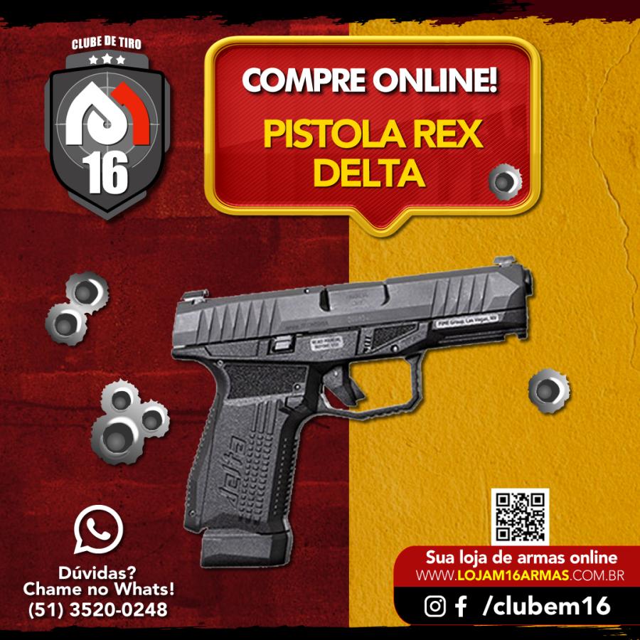 Pistola Rex Delta 9x19mm - Arex