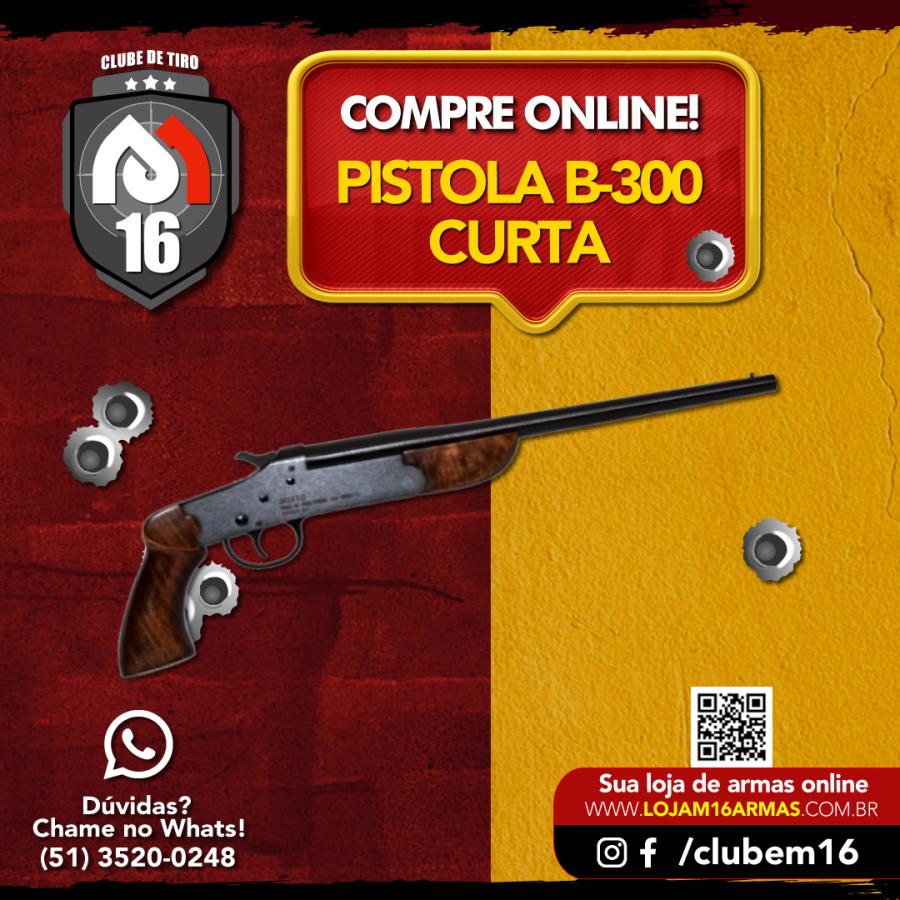 Pistola B-300 curta
