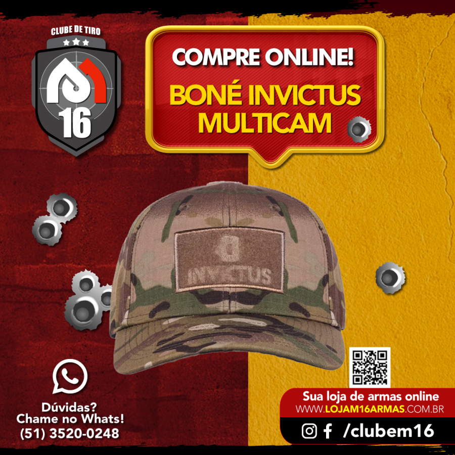 Boné Invictus Trigger Camuflado Multicam