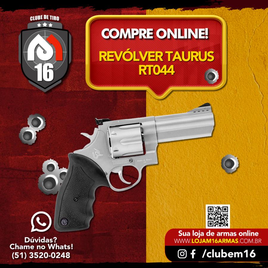 Revólver Taurus RT044 INFO ICCH525