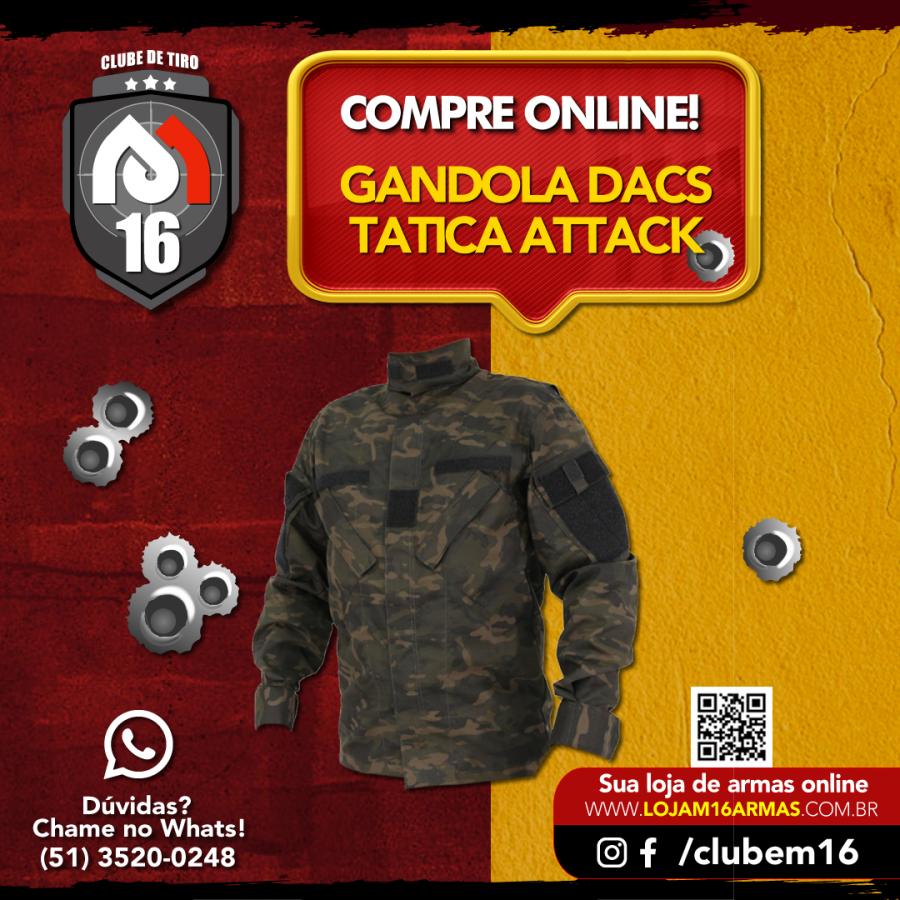 Gandola Tatica Attack - Multicam Black
