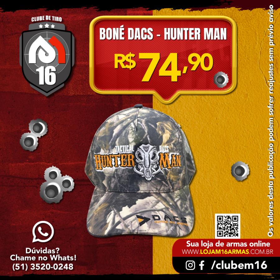Boné Tactical Dacs - Hunter Man