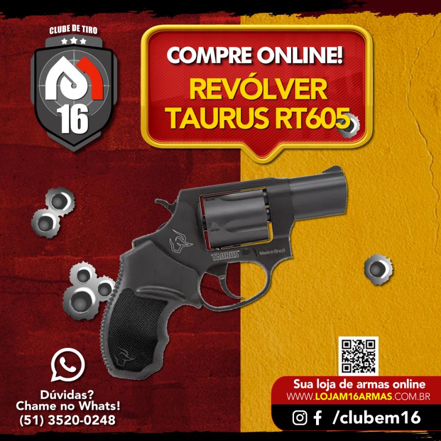 Revólver Taurus .357 RT605/5