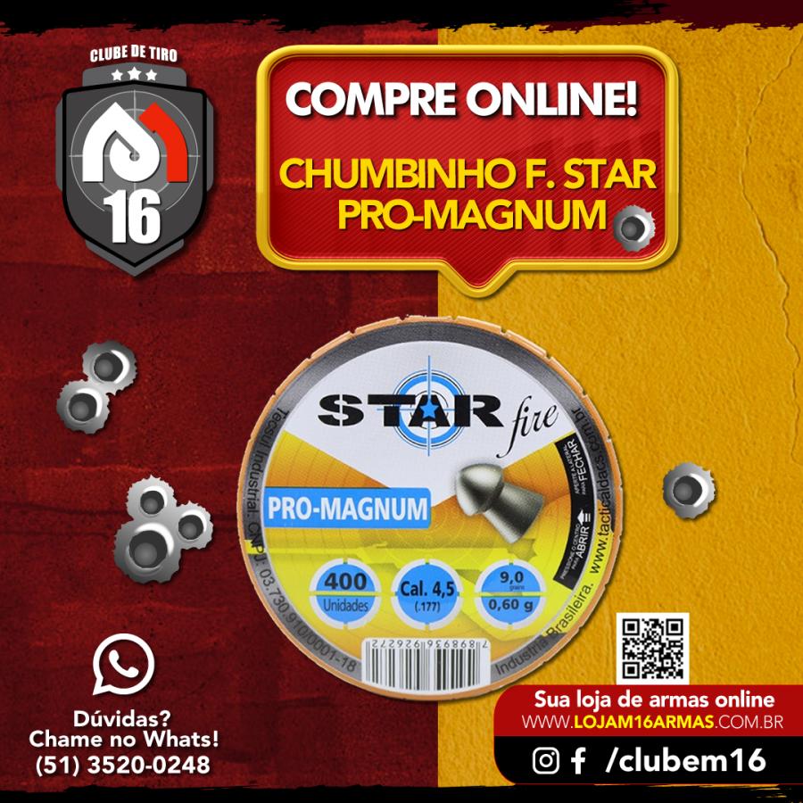 Chumbinho Star Fire Pro-Magunm
