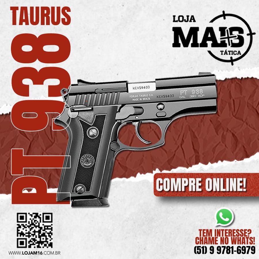 Pistola Taurus PT938/15