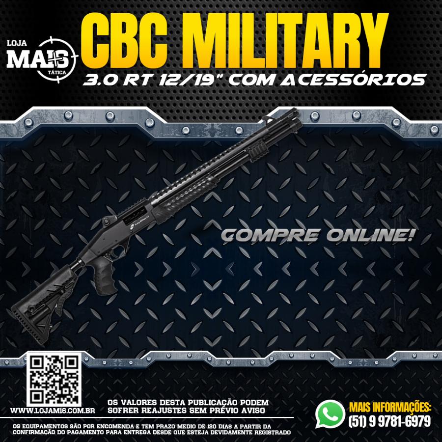 Espingarda CBC Military 3.0 RT 12*19