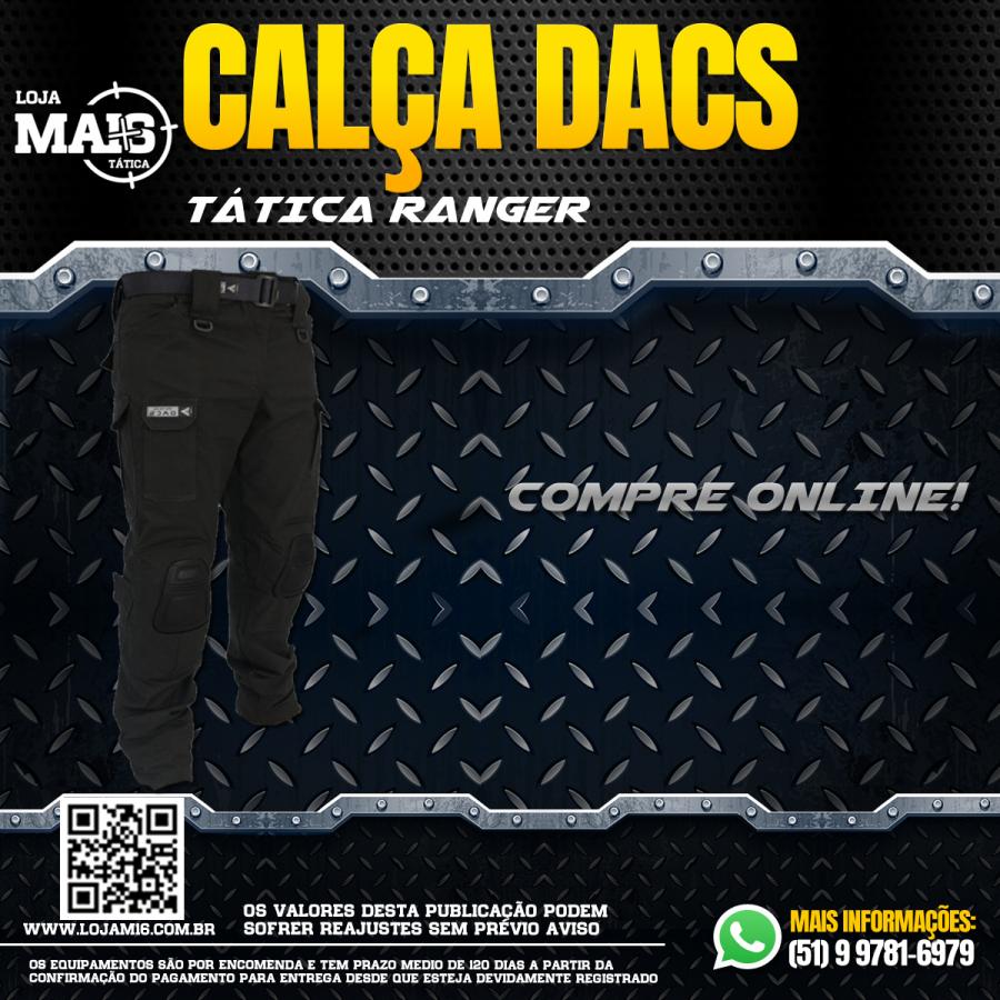 Calca Tatica Ranger - Preto
