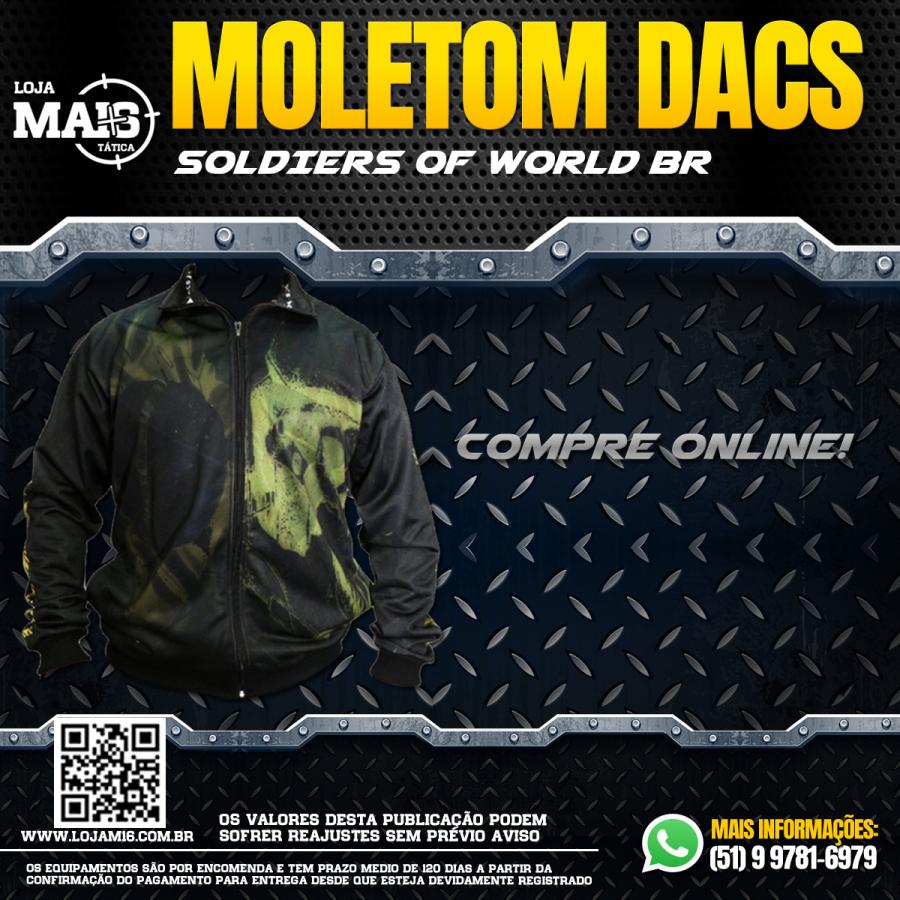 Moletom Sem Capuz - Soldiers Of World Br