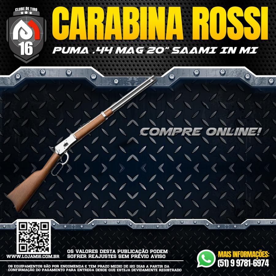 "Carabina Puma .44 MAG 20"" SAAMI IN MI"