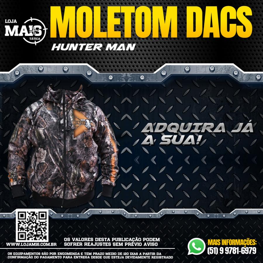 MOLETOM COM CAPUZ - HUNTER MAN
