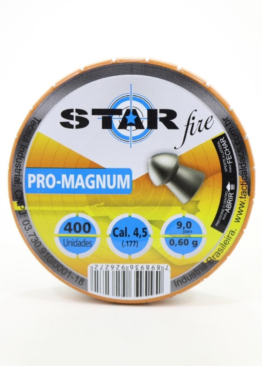 Chumbinho Star Fire - Pro-magnum - 4,5mm C/400 Un