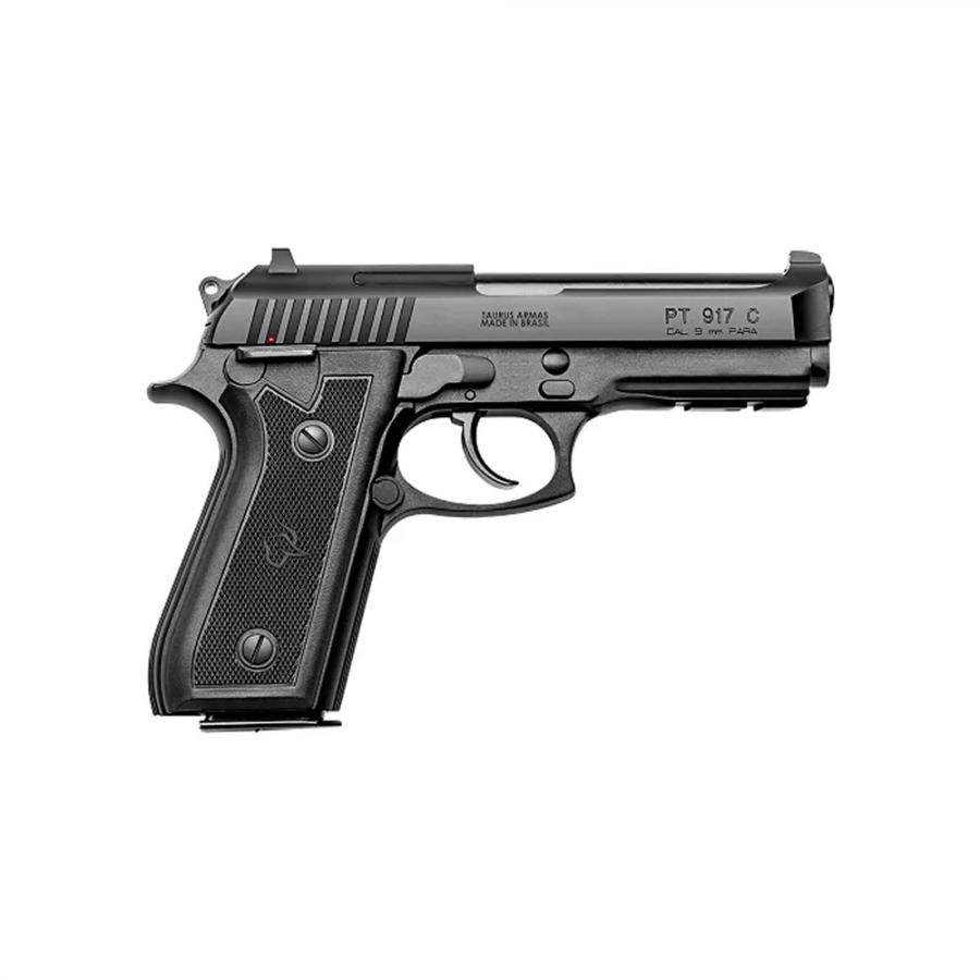 """Pistola Taurus CALIBRE 9mm 917/17 TIROS CANO 4"""" Carbono fosco"""