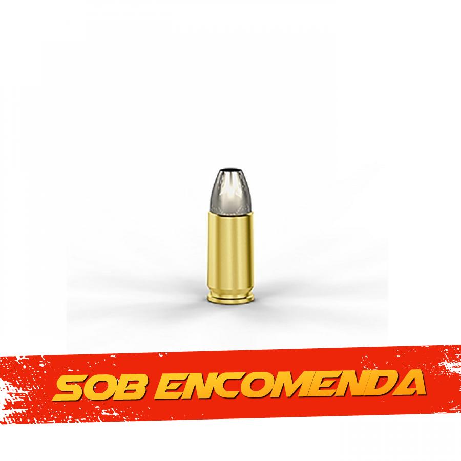 Munição Cbc 9mm Lgr +p+cxpo 92,6gr C.b.tac Blister com 10