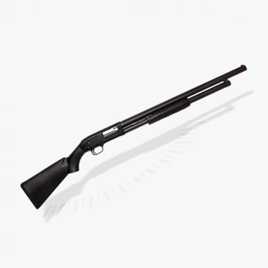 Espingarda BSA 5T 84 PUMP cal 12 - Pump Lavrada com Coronha PP ou Pistol Grip – Oxidada ou Natural