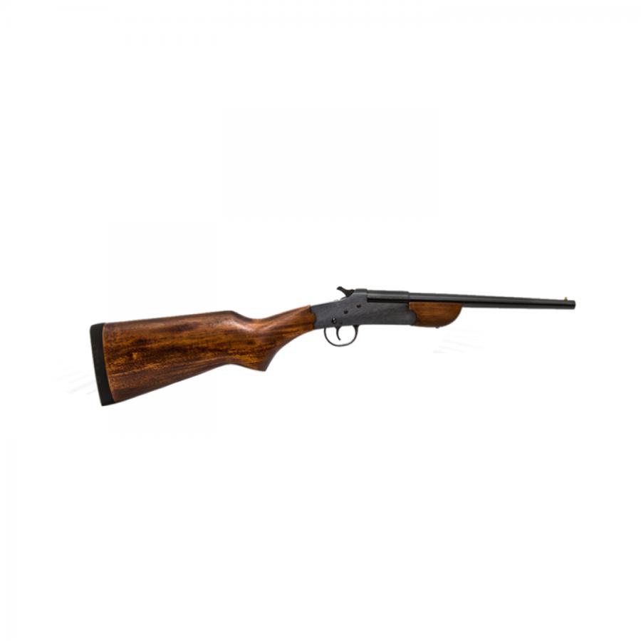 Pistola B-300 cal. 28,32 e 36 (300 mm) (cartucheira) - B-300 Com Coronha Longa em Madeira – Acabamento Standard Oxidado