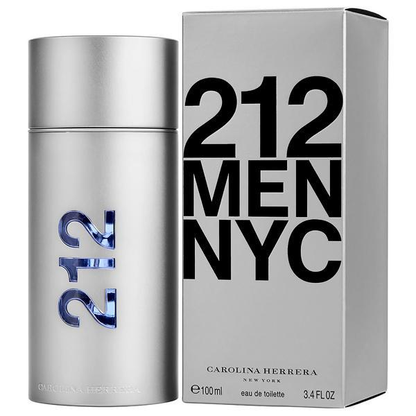 Perfume Carolina Herrera 212 MEN NYC  Eau de Toilette Masculino 100 ml