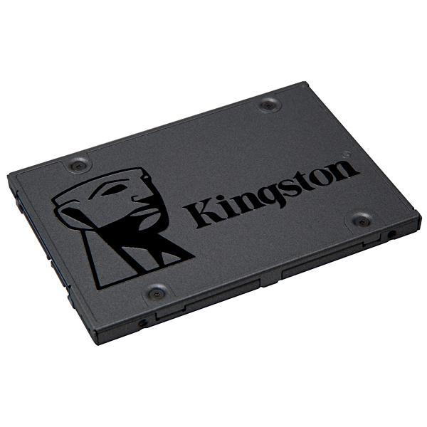 SSD de 960GB Kingston A400 SA400S37/960G com 500MB/s de Leitura - Cinza