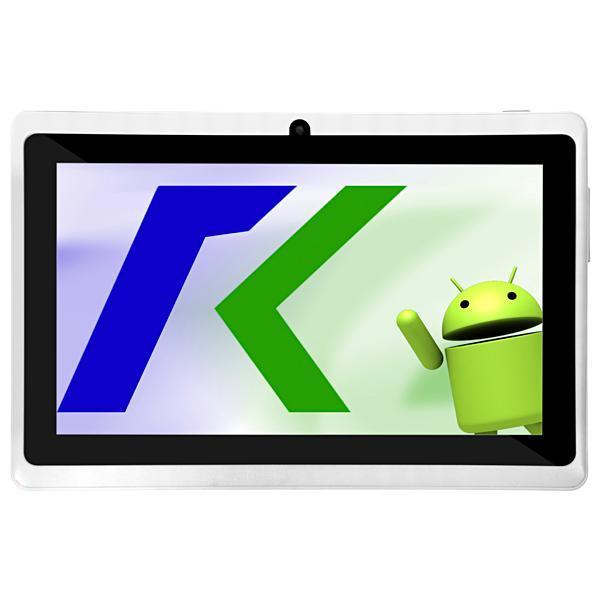 """Tablet Keen A78 Wi-Fi 8GB Tela de 7.0"""" 2MP/VGA OS 4.4.2 - Branco"""