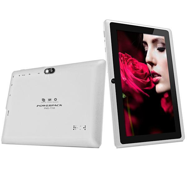 "Tablet Powerpack PMD-7708.GR Wi-Fi 8GB Tela de 7.0"" 0.3MP/0.3MP OS 7.1.2 - Branco"