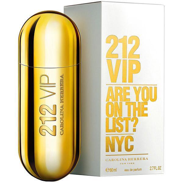 Perfume Carolina Herrera 212 VIP Eau de Parfum Feminino 80 ml