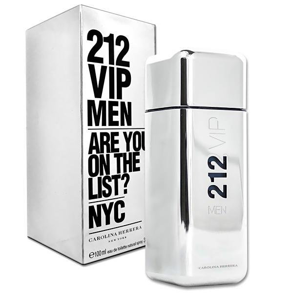 Perfume Carolina Herrera 212 Vip Men Eau de Toilette Masculino 100 ml