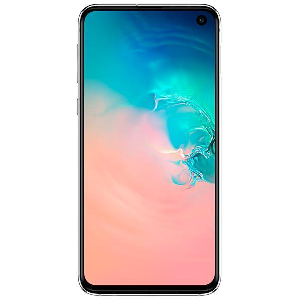 """Smartphone Samsung Galaxy S10e SM-G970F/DS 128GB 5.8"""" 12MP/16MP/10MP OS 9.0 - Branco Prisma"""