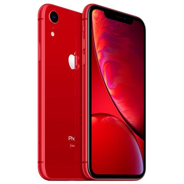 "Apple iPhone XR A2105 LL 128GB Tela Liquid Retina 6.1"" 12MP/7MP iOS - Vermelho"