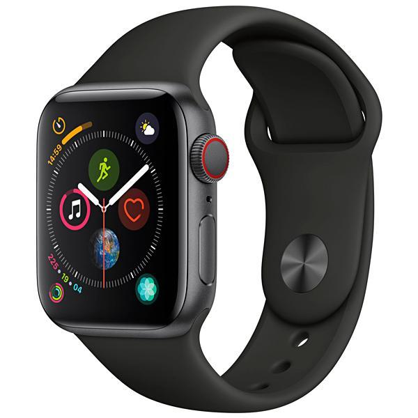 Apple Watch Series 4 40 mm A2007 MTVD2BZ/A GPS/LTE - Space Gray/Black