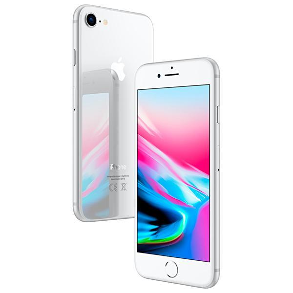 "Apple iPhone 8 A1905 BZ 64GB Tela Retina 4.7"" 12MP/7MP iOS - Prata"