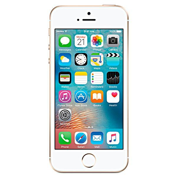 "Apple iPhone SE A1723 32GB Tela Retina de 4.0"" 12MP/1.2MP iOS - Dourado"