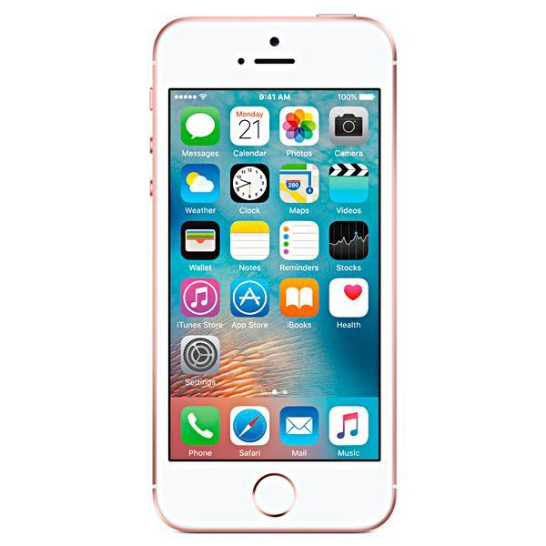 "Apple iPhone SE A1723 32GB Tela Retina de 4.0"" 12MP/1.2MP iOS - Rosa"