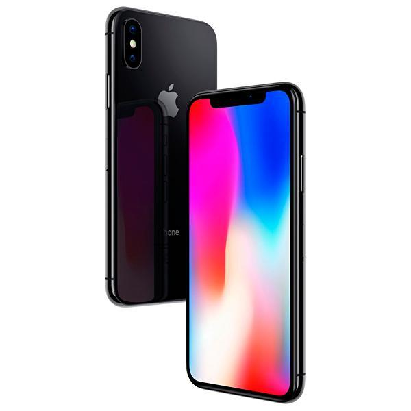 "Apple iPhone X A1901 BZ 64GB Tela Super Retina OLED 5.8"" 12MP/7MP iOS - Cinza Espacial"