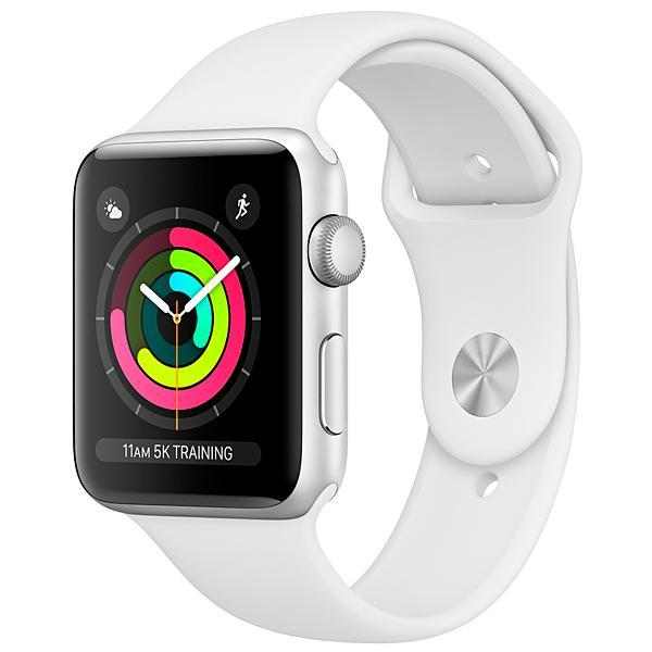 Apple Watch Series 3 42 mm MTF22CL/A A1859 - Silver/White