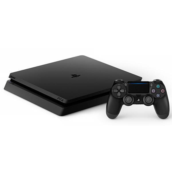 Console PlayStation 4 Slim de 500GB Sony CUH-2215A Bivolt - Jet Black