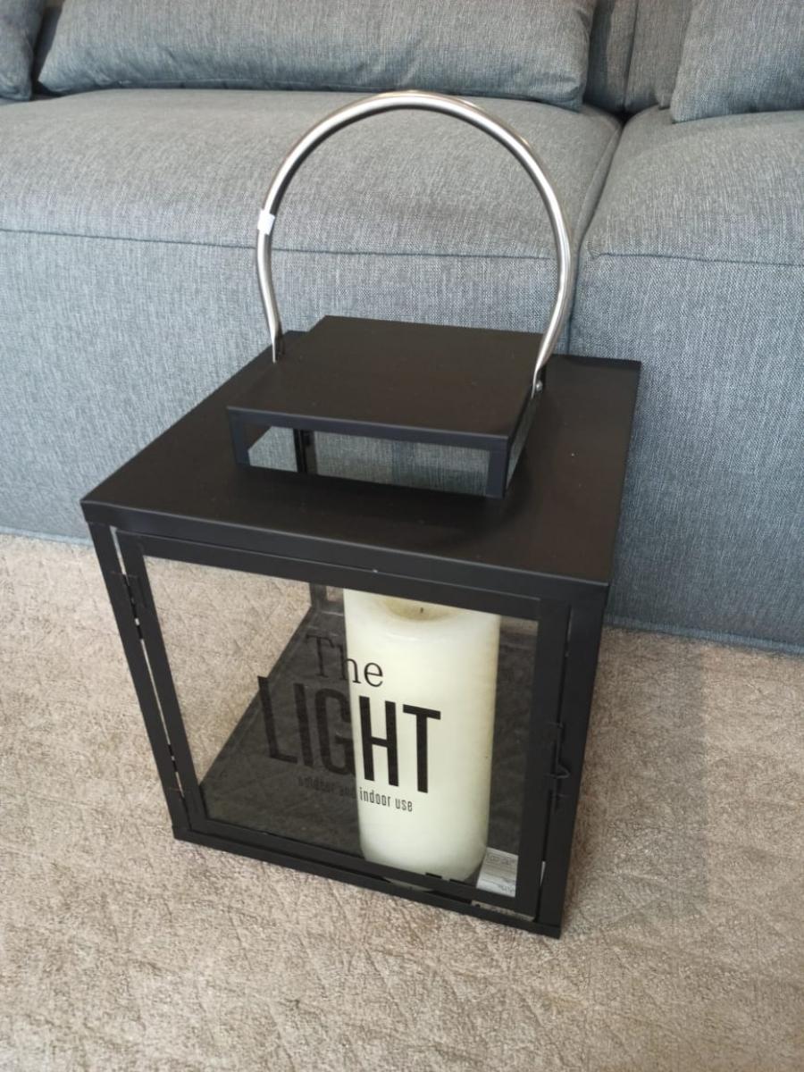 Lanterna decorativa de ferro G