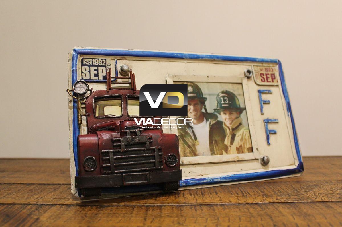 Porta retrato placa caminhão B