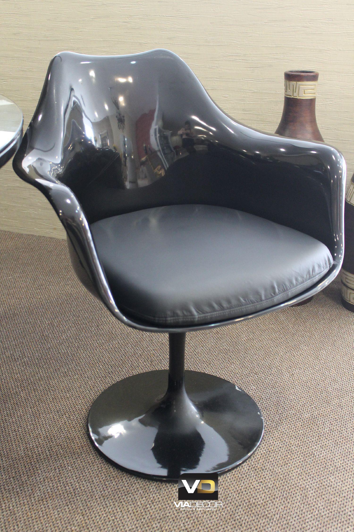 Cadeira fibra preto